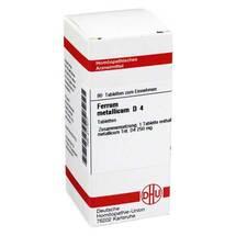 Produktbild Ferrum metallicum D 4 Tabletten