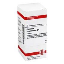 Produktbild Chininum arsenicosum D 6 Tabletten
