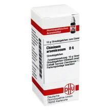 Chininum arsenicosum D 6 Globuli