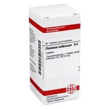Produktbild Chininum sulfuricum D 6 Tabletten