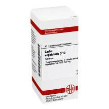 Produktbild Carbo vegetabilis D 12 Tabletten