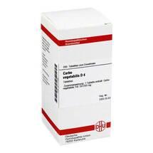 Produktbild Carbo vegetabilis D 4 Tabletten