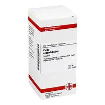 Carbo vegetabilis D 4 Tabletten
