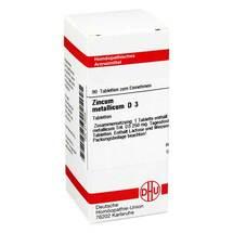 Produktbild Zincum metallicum D 3 Tabletten