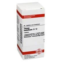 Produktbild Zincum metallicum D 12 Tabletten