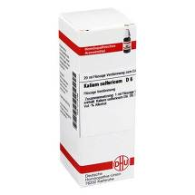 Produktbild Kalium sulfuricum D 6 Dilution
