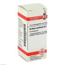 Produktbild Acidum oxalicum D 4 Globuli