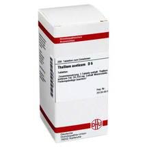 Thallium aceticum D 6 Tabletten