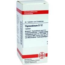 Thyreoidinum D 12 Tabletten