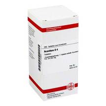 Produktbild Aconitum D 4 Tabletten