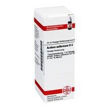 Acidum sulfuricum D 3 Dilution