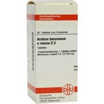 Produktbild Acidum benzoicum e res. D 3 Tabletten