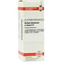 Produktbild Acidum benzoicum e res. D 4 Dilution