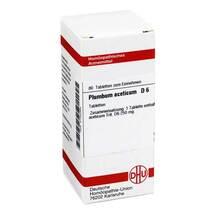 Produktbild Plumbum aceticum D 6 Tabletten