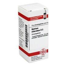 Produktbild Natrium chloratum D 3 Globuli