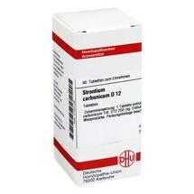 Produktbild Strontium carbonicum D 12 Tabletten