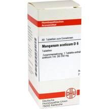 Manganum aceticum D 6 Tabletten