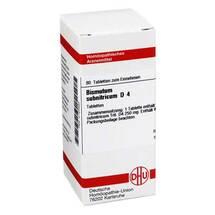 Produktbild Bismutum Subnitricum D 4 Tabletten