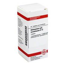 Produktbild Antimonium sulfuratum aurantiacum D 12 Tabletten
