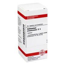 Produktbild Antimonium arsenicosum D 6 Tabletten