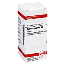 Produktbild Cuprum aceticum D 6 Tabletten