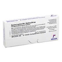 Produktbild Resina laricis / D 6 Retina D 4 aa Ampullen