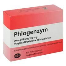 Produktbild Phlogenzym magensaftresistente Filmtabletten