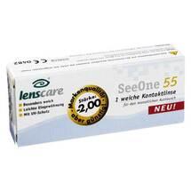 Produktbild Lenscare Seeone 55 -2,00 Dio