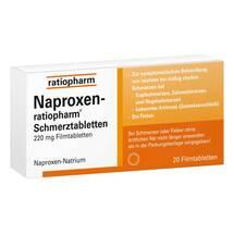 Naproxen ratiopharm Schmerztabletten Filmtabletten