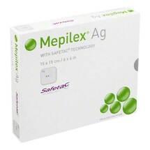 Produktbild Mepilex Ag Verband 15x15cm s