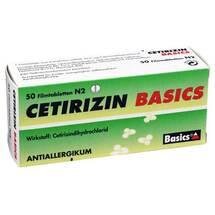 Produktbild Cetirizin Basics Filmtabletten