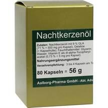 Produktbild Nachtkerzenöl 500 mg pro Kapsel