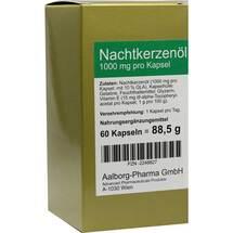 Nachtkerzenöl 1000 mg pro Kapsel