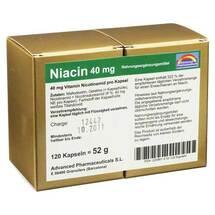 Produktbild Niacin 40 mg pro Kapsel