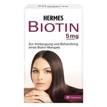 Produktbild Biotin Hermes 5 mg Tabletten