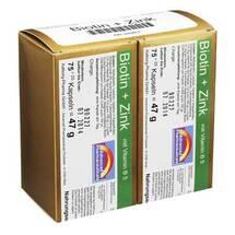 Produktbild Biotin + Zink Kapseln