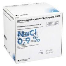 Isotone Nacl Lösung 0,9% BC Plastik Injektionslösung
