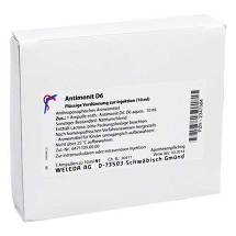 Produktbild Antimonit D 6 Ampullen