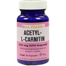 Produktbild Acetyl-L-Carnitin 250 mg Kapseln