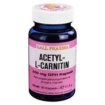 Produktbild Acetyl-L-Carnitin 500 mg Kapseln