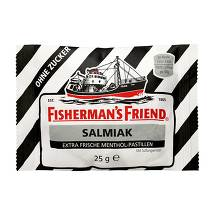 Produktbild Fishermans Friend Salmiak ohne Zucker Pastillen