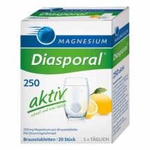Produktbild Magnesium Diasporal 250 aktiv Brausetabletten