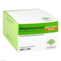 Produktbild Magnesiocard forte 10 mmol Orange Pulver