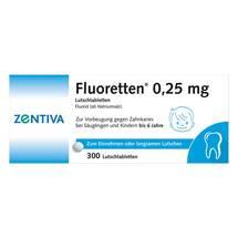 Produktbild Fluoretten 0,25 mg Tabletten