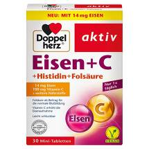 Doppelherz Eisen+Vitamin C+L-Histidin Tabletten