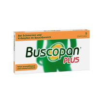 Produktbild Buscopan plus Suppositorien