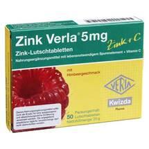 Zink Verla 5 mg Lutschtabletten