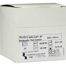 Ambix Safe Can Portpunkt.kanüle 22 Gx25 mm gebogen