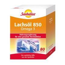 Produktbild Sanhelios Lachsöl 850 Omega 3 Kapseln