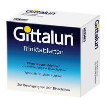 Produktbild Gittalun Trinktabletten